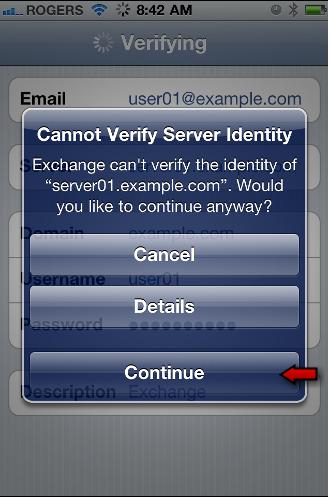 Identificazione Server, Cosa Accade Sugli Smartphones