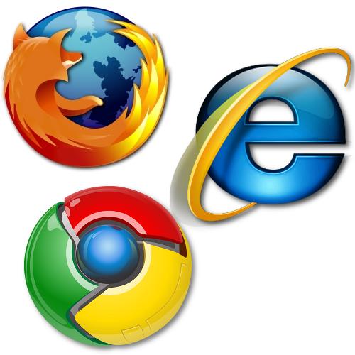 Internet Explorer resta il browser più diffuso al mondo, ma Firefox e Chrome incalzano